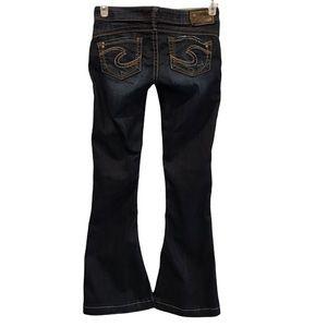 Silver Jeans Camden Rose bell bottom flared leg waist 26/ length 33
